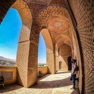 تصویر - گنبد سلطانیه , سومین گنبد بزرگ جهان , زنجان - معماری