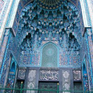 تصویر - مسجد آبی سنپترزبورگ شکوه معماری ایرانی , روسیه - معماری