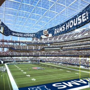 عکس - استادیوم هوشمند SoFi , لسآنجلس
