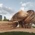 عکس - ساخت مجسمه بزرگ گمراهکنندهای با تکنیکهای قدیمی چوبسازی