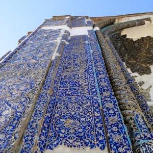 عکس - معماری منحصربه فرد مسجد کبود ( مسجد جهانشاه ) , تبریز