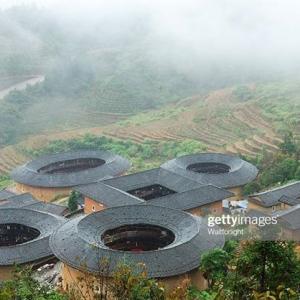 تصویر - فوجیان تالو , معماری ویژه زندگی جمعی در چین - معماری