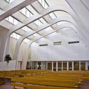 تصویر - کلیسا Riola Parish , اثر آلوار آلتو , ایتالیا - معماری