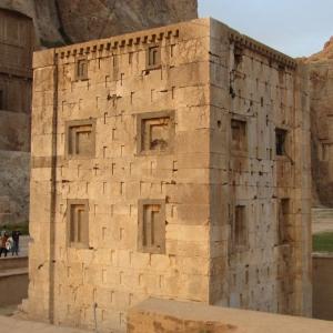 تصویر - کعبه زرتشت , رازهای ناگشوده مکعب باستانی - معماری