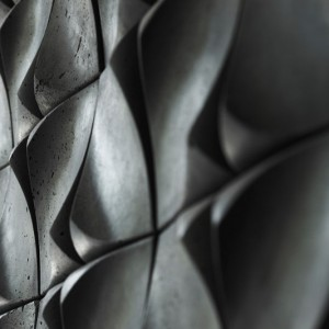 عکس - تایلهای دیواری Dune Wall Treatment ، استودیو طراحی کانادایی UrbanProduct
