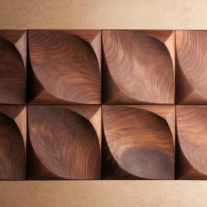 تصویر - تایلهای دیواری Dune Wall Treatment ، استودیو طراحی کانادایی UrbanProduct - معماری