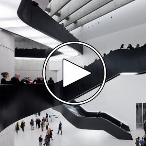 عکس - موزه ملی هنر قرن بیست و یکم ( MAXXI Museum Art ) , اثر زاها حدید , ایتالیا