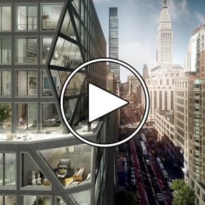 عکس - برج مسکونی 121E 22ND , اثر شرکت OMA , نیویورک ( مصاحبه با رم کولهاس )