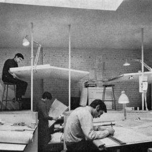 تصویر - دنیای معماران قبل از اتوکد - معماری