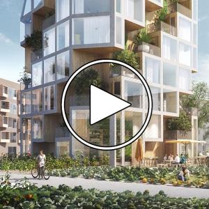عکس - پروژه واحد همسایگی Bagneux , اثر گروه طراحی MVRDV , فرانسه