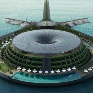 عکس - هتل Eco-Floating Hotel ، اثر استودیو معماری Hayri Atak , قطر