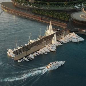 تصویر - هتل Eco-Floating Hotel ، اثر استودیو معماری Hayri Atak , قطر - معماری