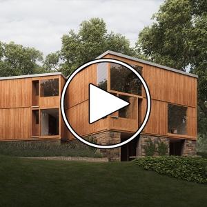 عکس - خانه ماهیگیر ( FISHER HOUSE ) , اثر لویی کان ( Louis Kahn ) , آمریکا