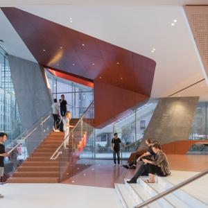 تصویر - مرکزآموزشی Roy and Diana Vagelos , اثر تیم Diller Scofidio و Renfro , آمریکا - معماری