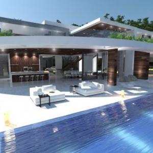 تصویر - ویلا 90210 , آمریکا , کالیفرنیا , بورلی هیلز ( Beverly Hills ) - معماری