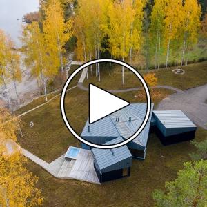 عکس - خانه Three Square House , اثر استودیو Studio Puisto , فنلاند