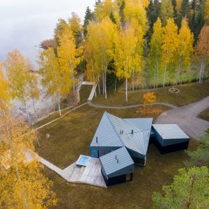 تصویر - خانه Three Square House , اثر استودیو Studio Puisto , فنلاند - معماری