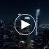 عکس - منظر شب شهر لس آنجلس ( Los Angeles ) , آمریکا ( 4K )