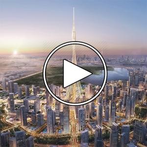 عکس - برج کریک دبی ( Dubai Creek Tower ) , اثر سانتیاگو کالاتراوا , امارات