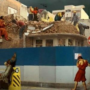 عکس - تاریخ تهران در حال محو شدن است