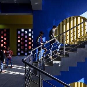 تصویر - مدرسه Rajasthan , اثر تیم طراحی Sanjay Puri , هند - معماری