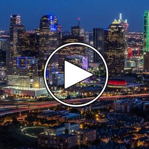 تصویر - پرواز شبانه بر فراز دالاس ( Dallas ) , آمریکا - معماری