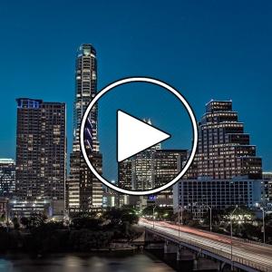 تصویر - پرواز شبانه بر فراز آستین ( Austin ) , آمریکا - معماری