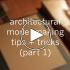 عکس - ساخت مدل های مطالعاتی معماری ( Study models ) , نکات و ترفند ها