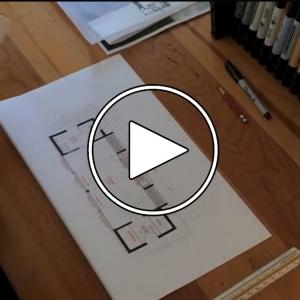 عکس - فرآیند طراحی معماری : استودیو مدرن بارن ( Modern Barn Studio )