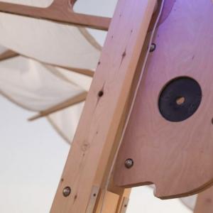 تصویر - اینستالیشن sail-like canopy , اثر Wevolve Labs , آمریکا - معماری