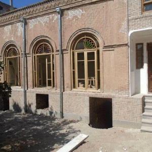 عکس - مرمت خانه ی سرکاراتی تبریز در پایان راه