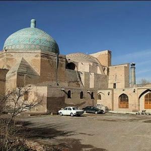 عکس - مرمت مسجد جامع عتیق قزوین توسط گروهی اروپایی