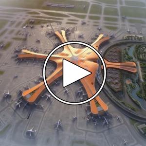 عکس - فرودگاه داکسینگ , اثر Zaha Hadid Architects