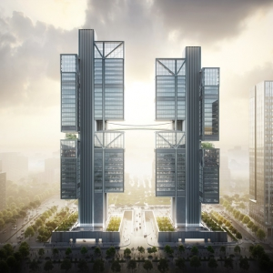 تصویر - طراحی مفهومی برج های شرکت DJI , اثر نورمن فاستر , چین - معماری