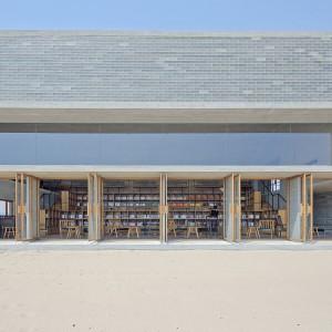 تصویر - کتابخانه ساحلی Seashore , اثر تیم طراحی Vector Architects , چین - معماری
