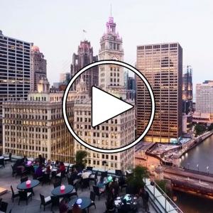 تصویر - نگاهی به شیکاگو ( Chicago ) , در دوران تعطیلی بر اثر کرونا ویروس  - معماری