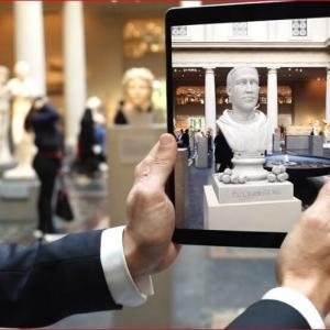 تصویر - نمایشگاه واقعیت افزوده و نسل جدید نگرش هنری , اپلیکیشن All Show - معماری
