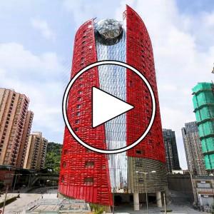 تصویر - تایم لپس ساخت هتل THE 13 Hotel ، اثر تیم معماری Peter Marino ، ماکائو (Macau) - معماری