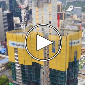 تصویر - تایم لپس ساخت Aurora Melbourne Central ، سپتامبر 2019 - معماری