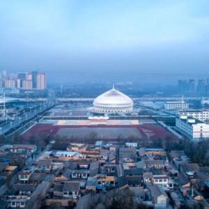 تصویر - مسجد عمان الهامبخش سالن نمایش چین - معماری