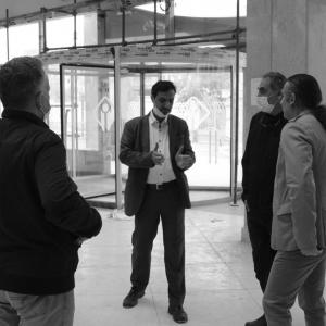 تصویر - بیانیه هیئت داوران و اعلام نتایج مسابقه عنصر مرکزی سرسرای بانو هنگامه هاشمی - معماری