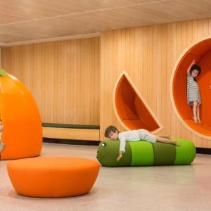 تصویر - مهدکودک رویایی برای کودکان  - معماری
