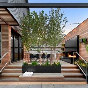 عکس - طراحی فضای باز خانه ای در شیکاگو , اثر استودیو طراحی  dSPACE Studio , آمریکا