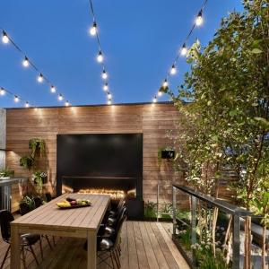تصویر - طراحی فضای باز خانه ای در شیکاگو , اثر استودیو طراحی  dSPACE Studio , آمریکا - معماری