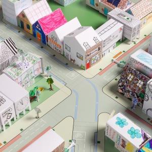 عکس - تلاش ستودنی تیم معماری فاستر و همکارانش برای سرگرم کردن کودکان در قرنطینه