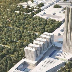 تصویر - جزئیات جدید از آسمان خراش شرکت گاز ایران - معماری