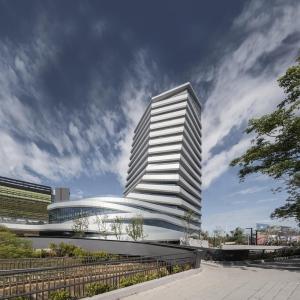 عکس - دفتر مرکزی شرکت Giant , اثر J.J. Pan و همکاران , تایوان