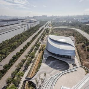 تصویر - دفتر مرکزی شرکت Giant , اثر J.J. Pan و همکاران , تایوان - معماری