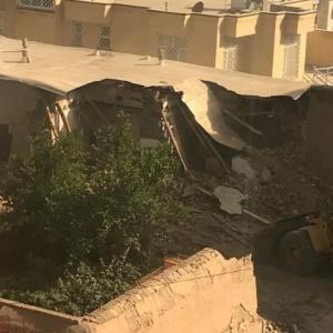 تصویر - تخریب خانه پرویز مشکاتیان در نیشابور - معماری