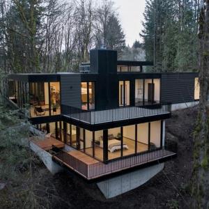 عکس - خانه مدرن جنگلی Oregon , اثر William-Kaven Architecture , آمریکا